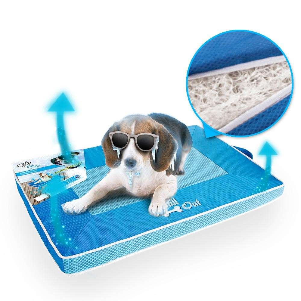 Fresh Blue Dog Cat Cool Mat