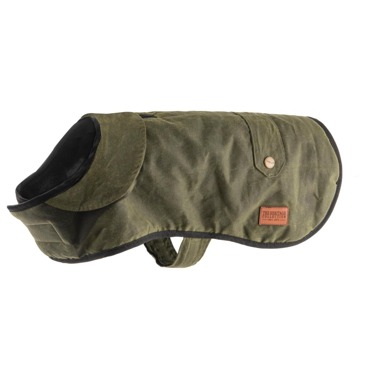 Modern Green Wax Coat
