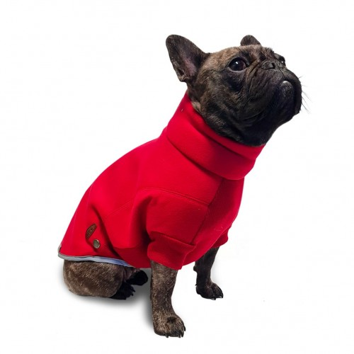 Ideal Red Fleece Jumper