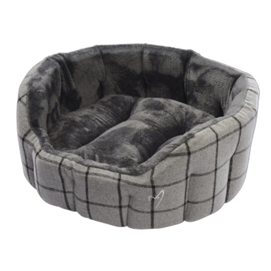 Luxurious Grey Pets Bed