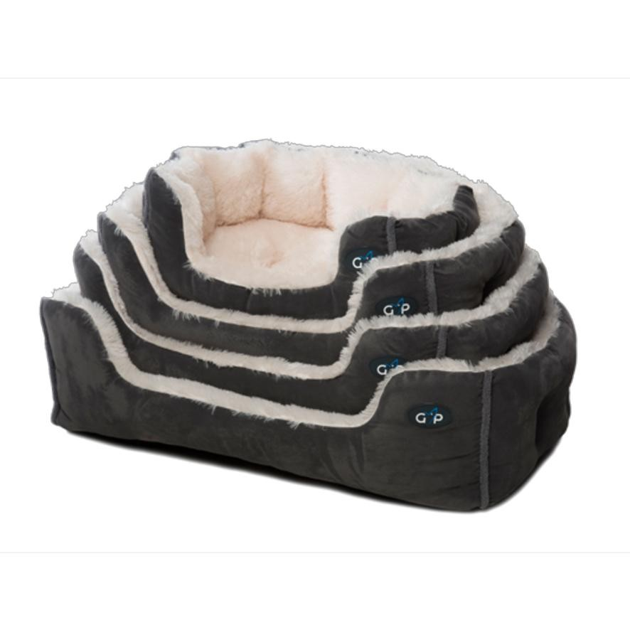 Grey Pets Snuggle Bed