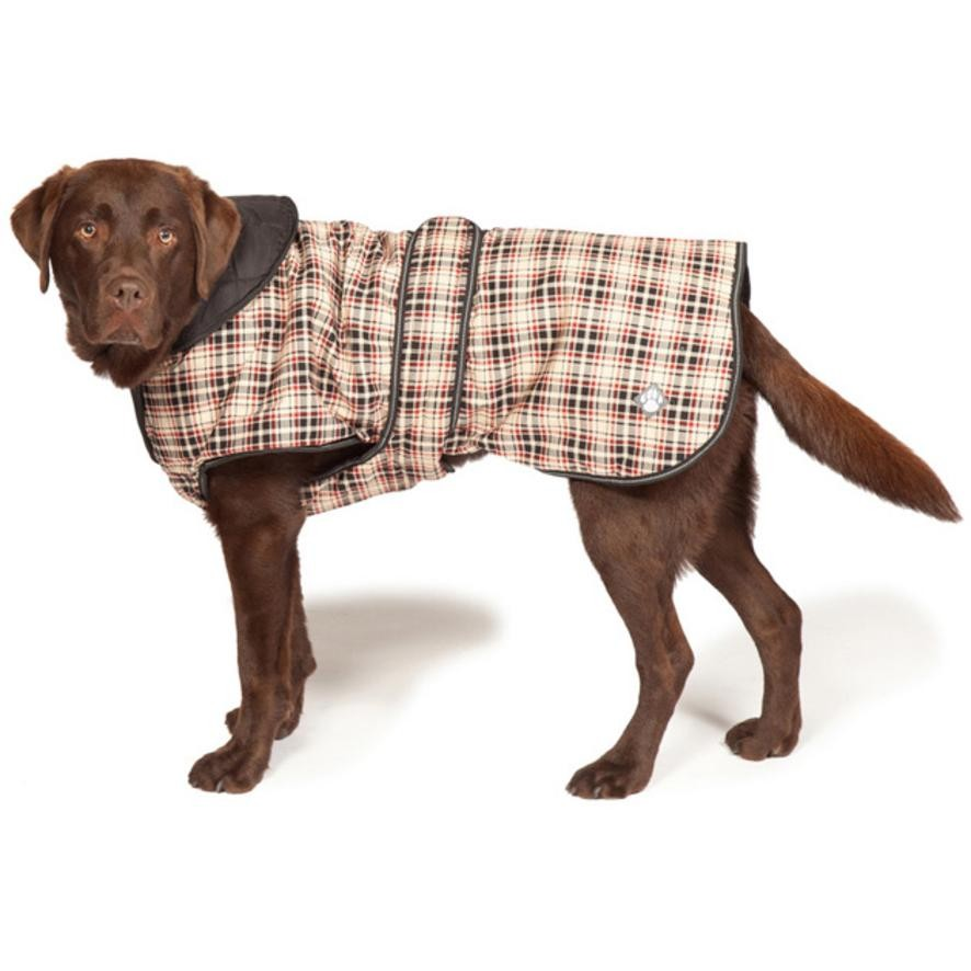 Classic Check Luxury Dog Coat