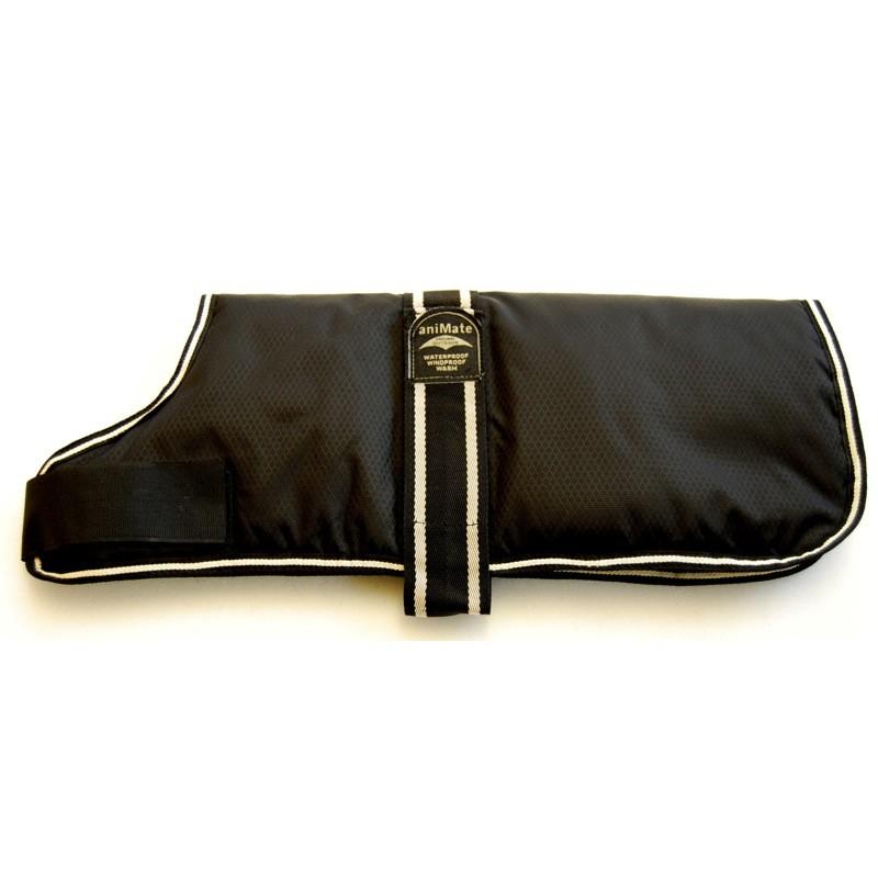 Ideal Black Padded Dog Coat