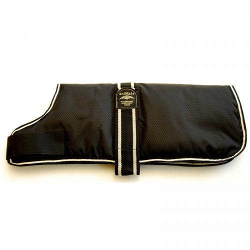Ideal Black Padded Dog Coat