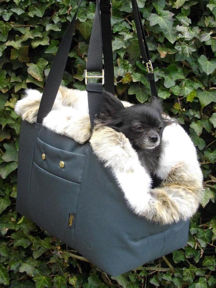 Handmade Large Dog Travel Bag