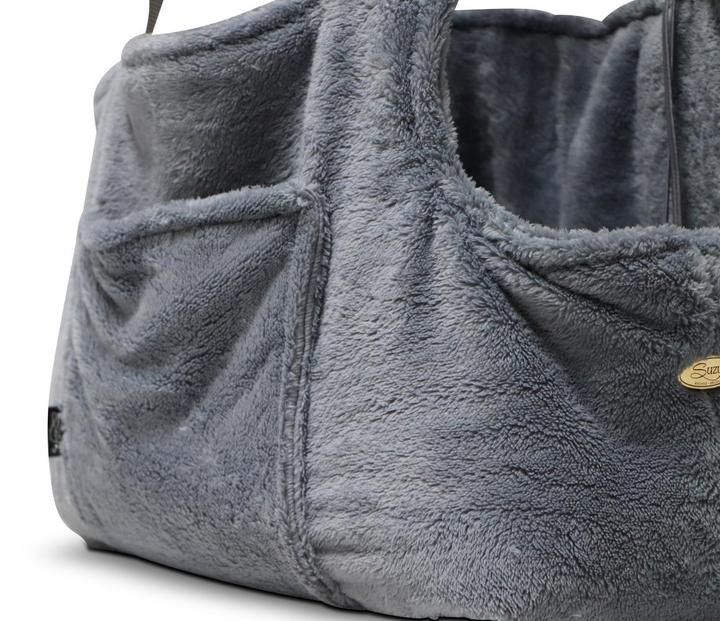Grey Office and Travel Dog Carrier