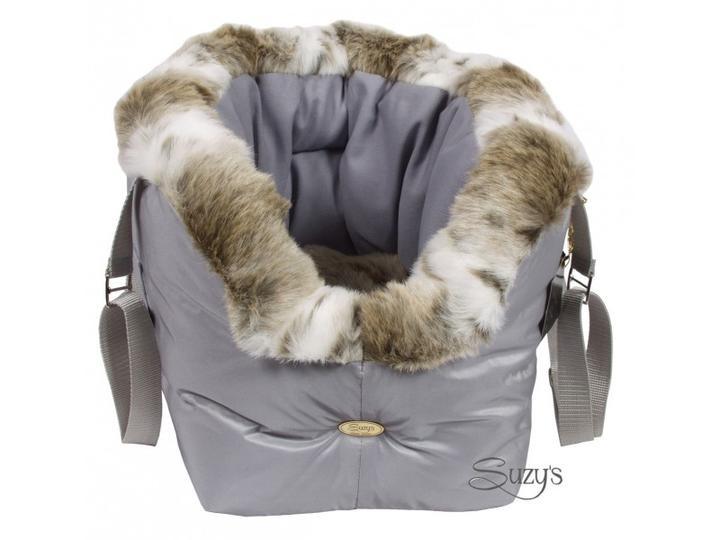 Grey Luxury Dog Carrier