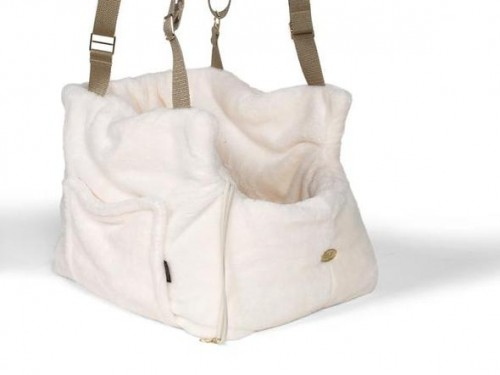 Ivory Office and Travel Dog Carrier