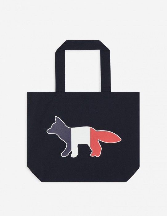 Navy Shopping Tote Bag