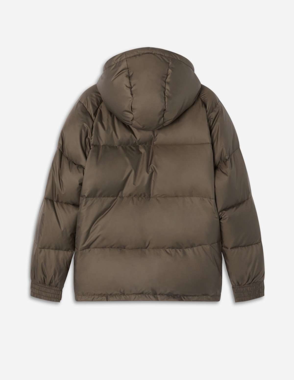 Taupe Short Down Jacket