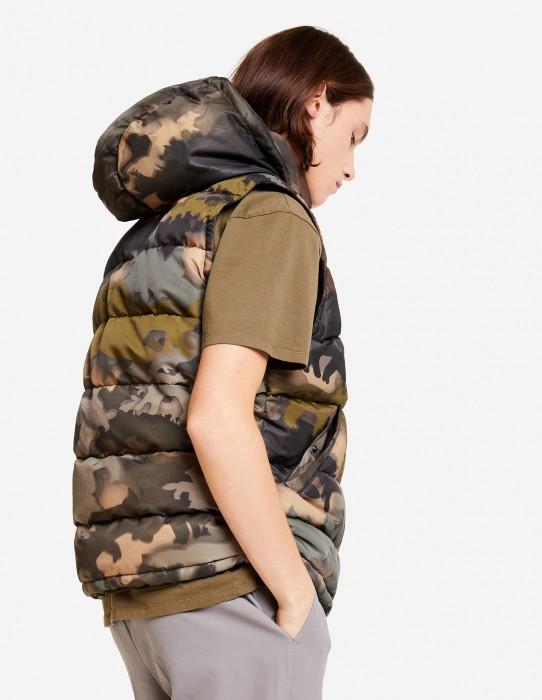 Duck Down Sleeveless Jacket