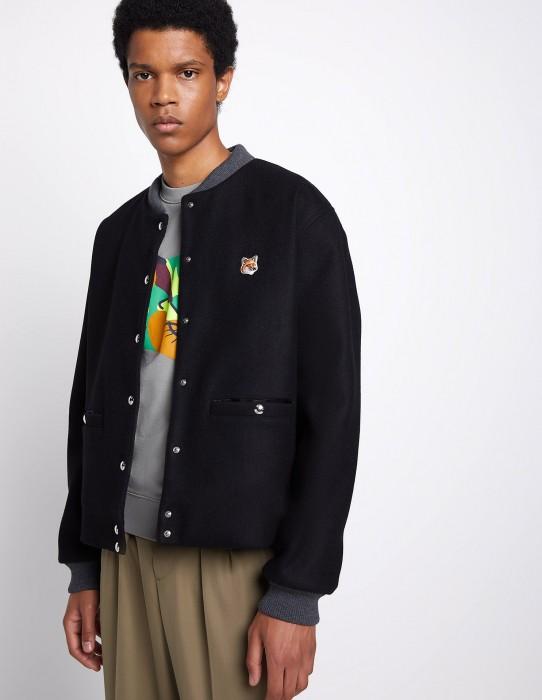 Black Wool Teddy Jacket