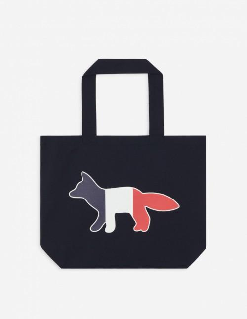 Navy Shopping Tote Bag