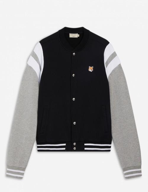Black Unisex Cotton Teddy Jacket