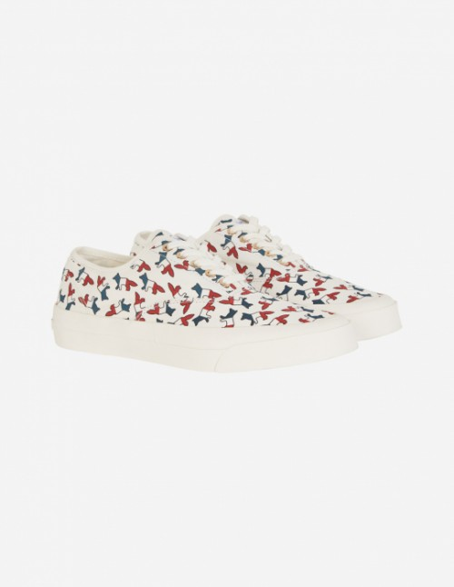 Unisex All-Over Tricolor Sneakers