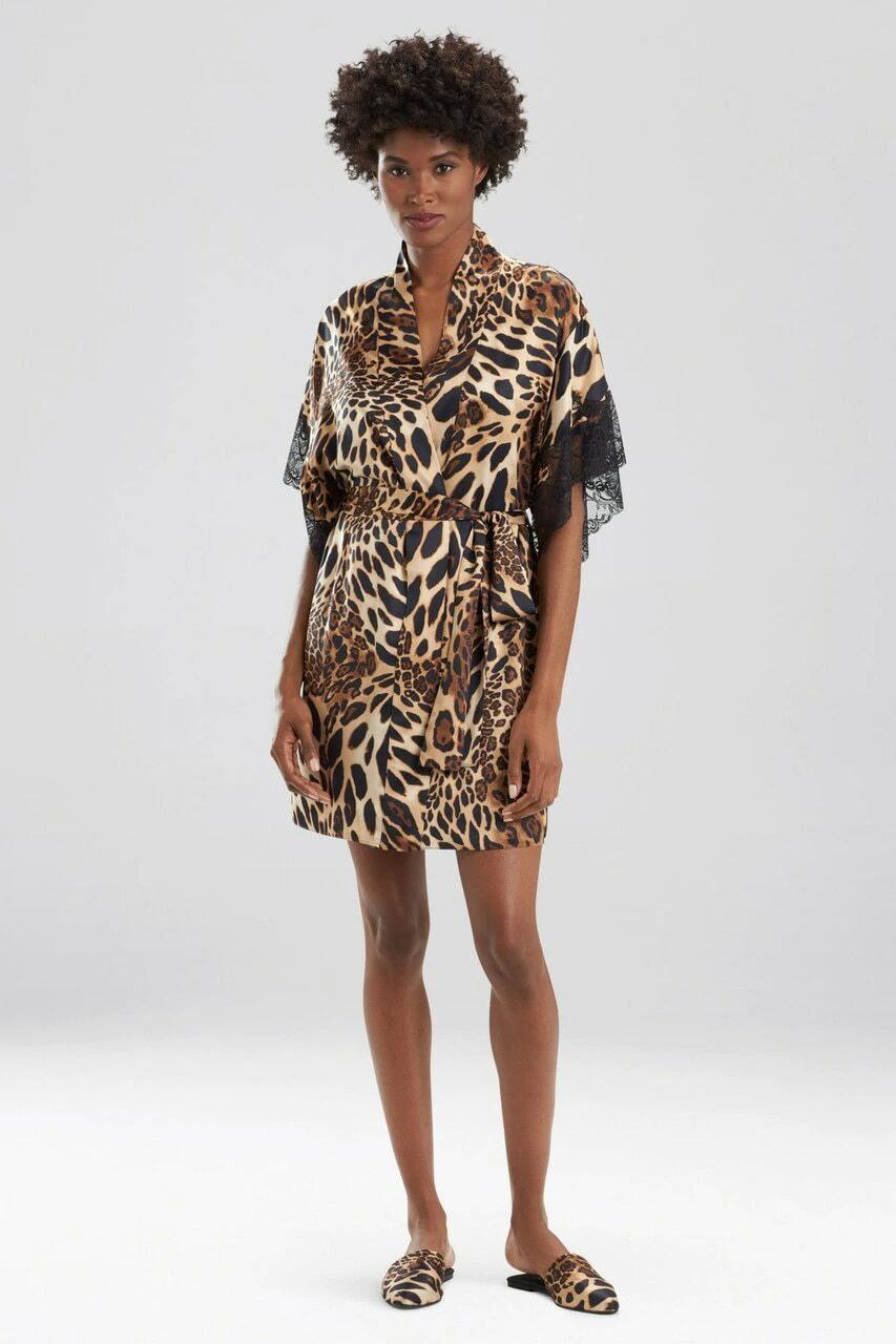 Classy Luxe Leopard Wrap