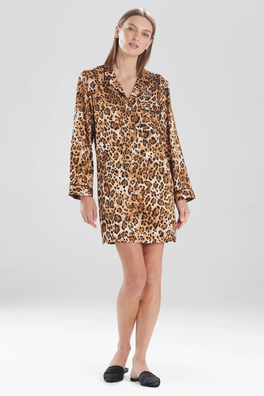 Frosted Café Cheetah Sleepshirt