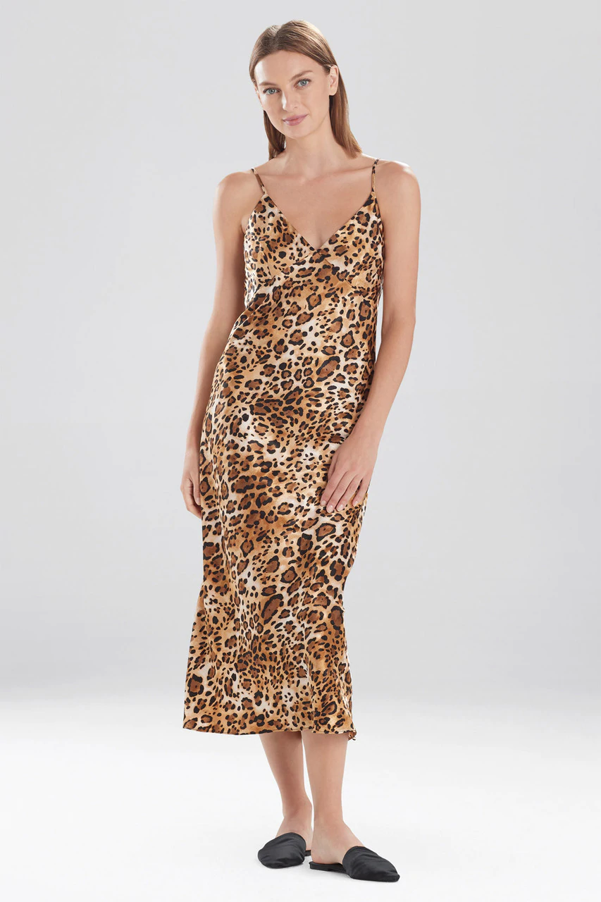 Frosted Café Cheetah Gown