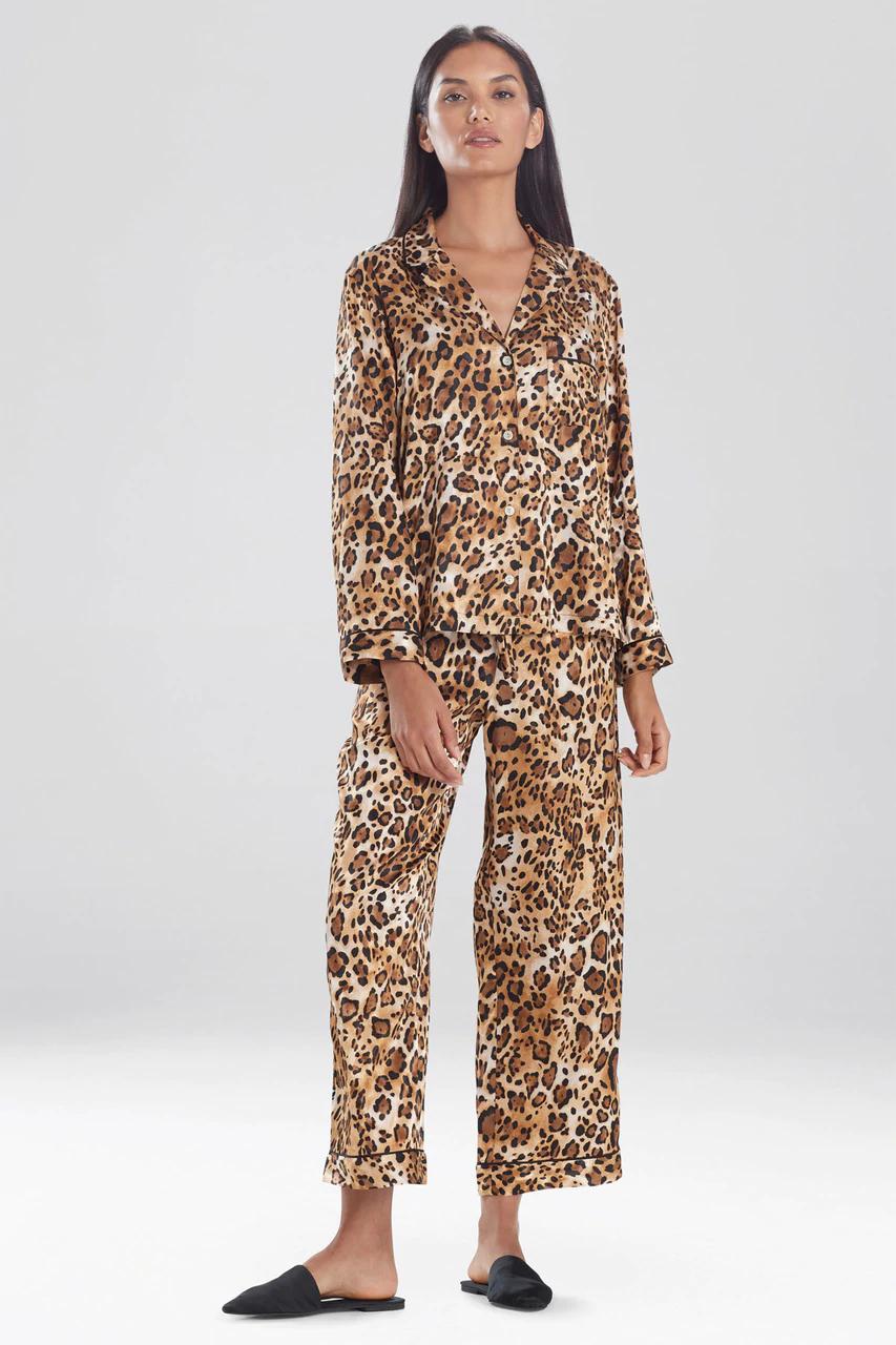 Frosted Café Cheetah Notch Pyjama