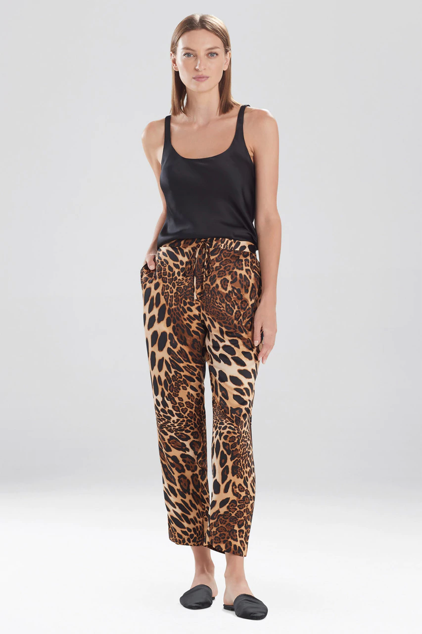 Chestnut Leopard Pants