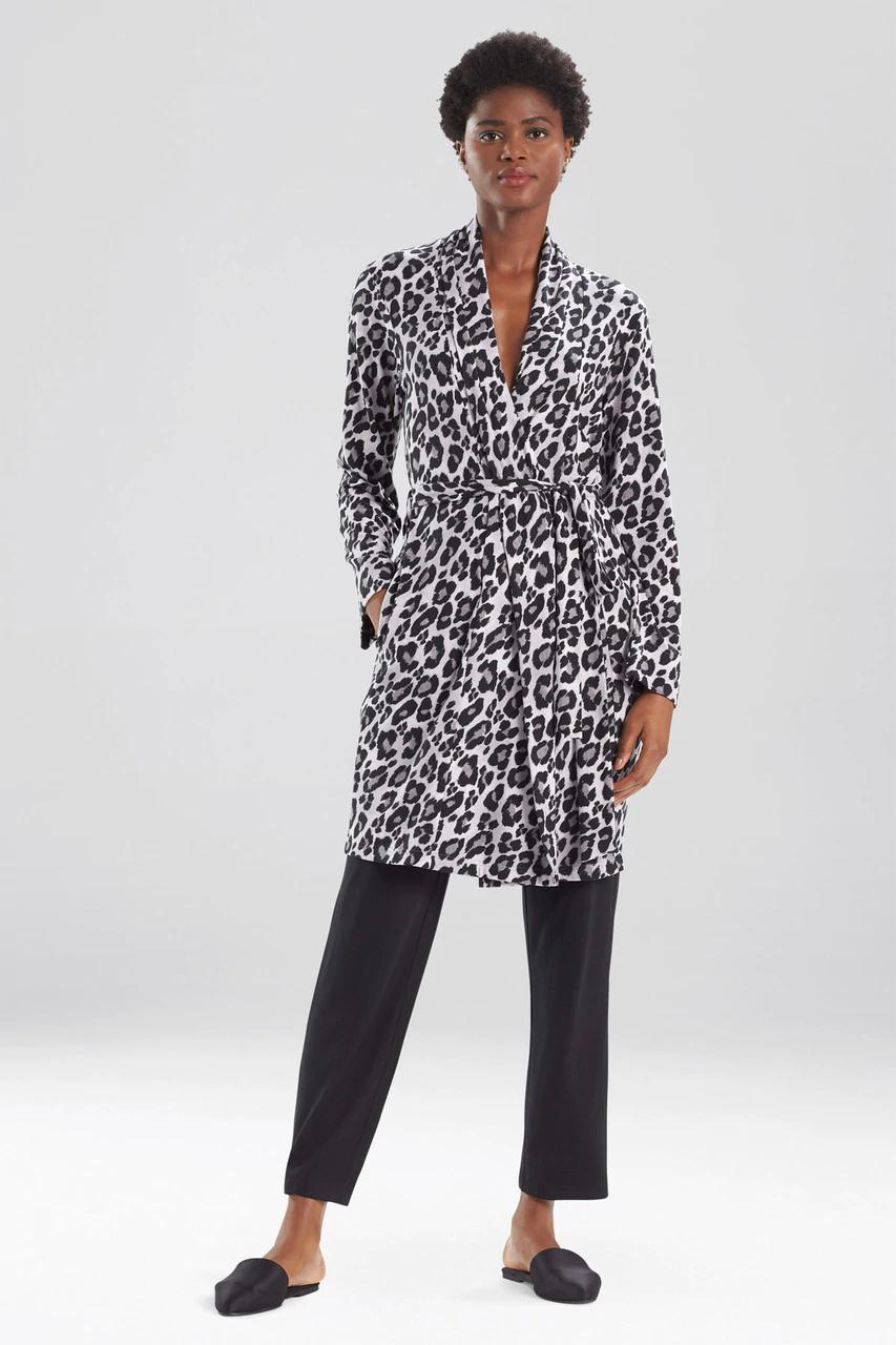 Classy Ombre Leopard Robe
