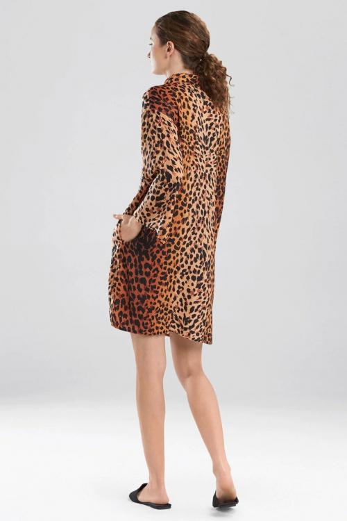 Cheetah Mandarin Sleepshirt