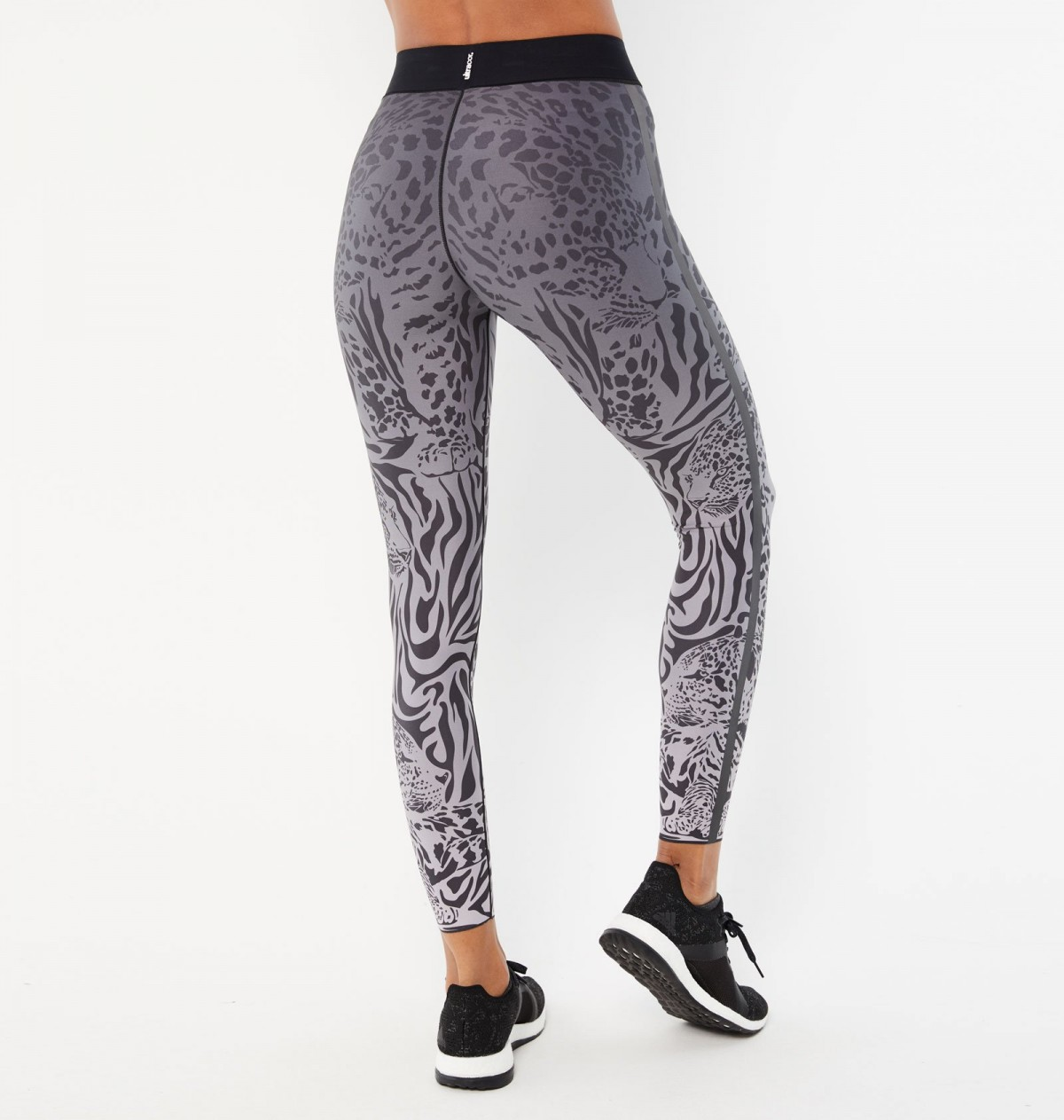 Blush and Graphite Panthera Legging