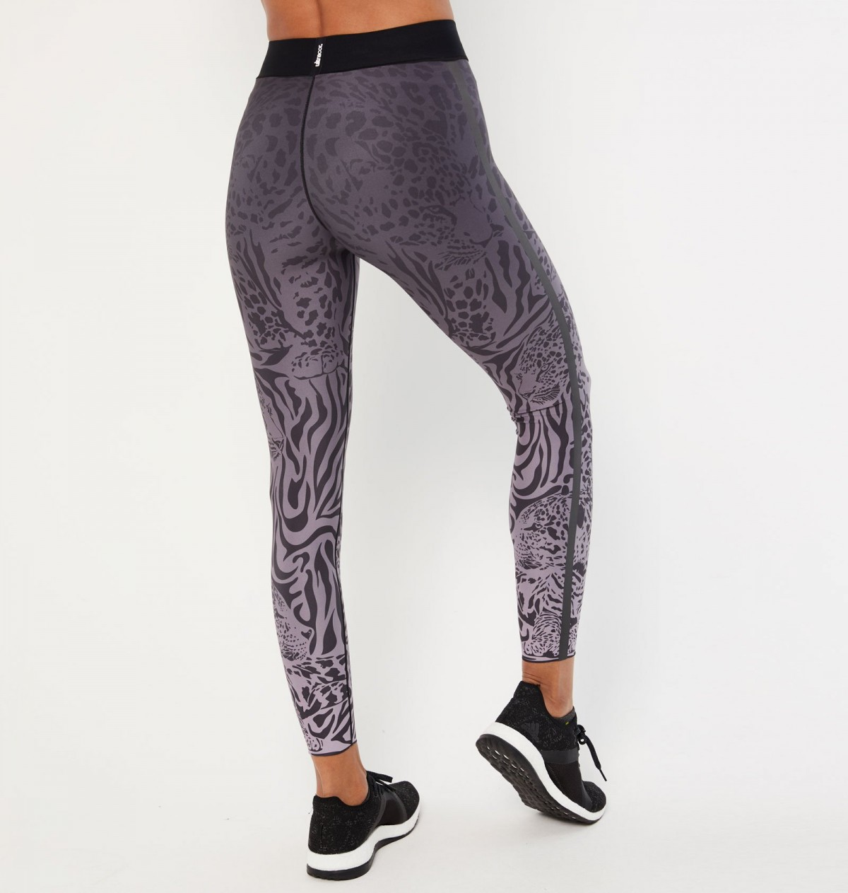 Lavender and Graphite Panthera Legging