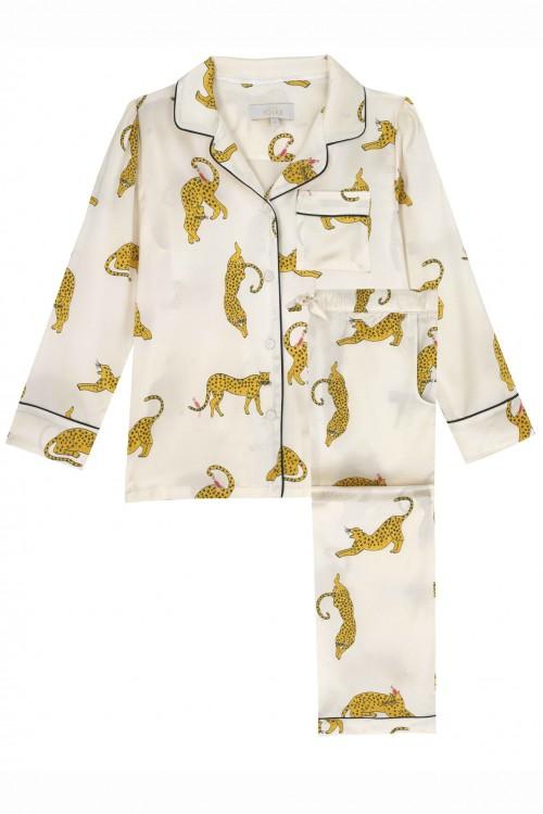 Cute Print Silk Pyjamas