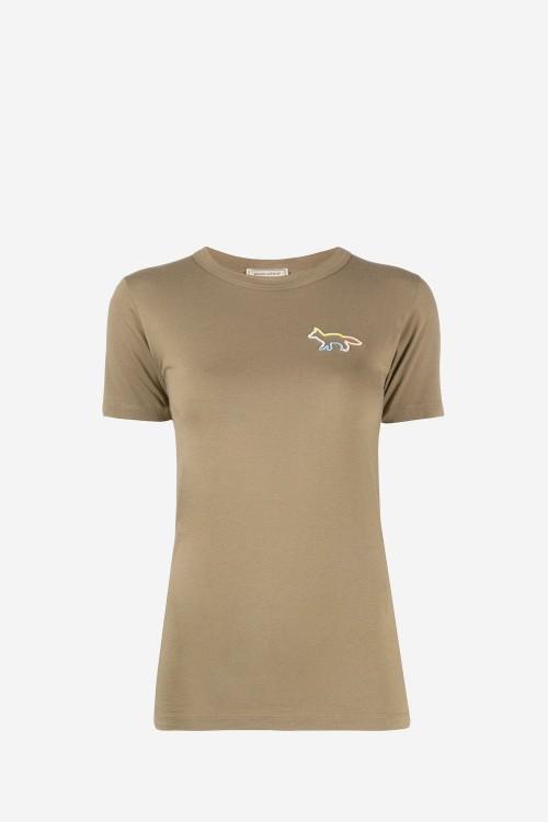 Khaki Fox T-shirt