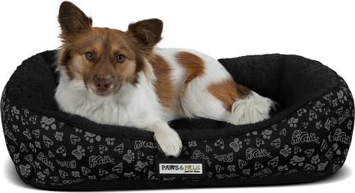 Black Self-Warming Cat & Dog Bed
