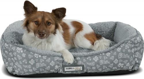 Grey Self-Warming Cat & Dog Bed