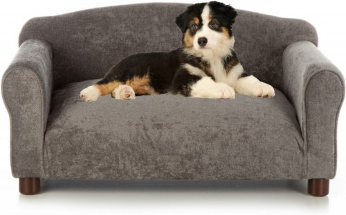 Gorgeous Charcoal Sofa Cat & Dog Bed