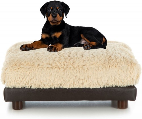 Elegant Brown Cat & Dog Bed