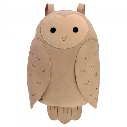 Owl Beautiful Brown Backpack