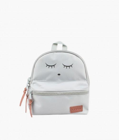 Grey Sleeping Cutie Backpack