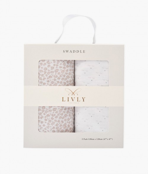 Adorable 2-Pack Swaddles