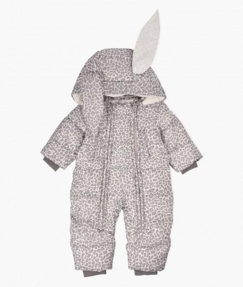 Leo Print Bunny Overall