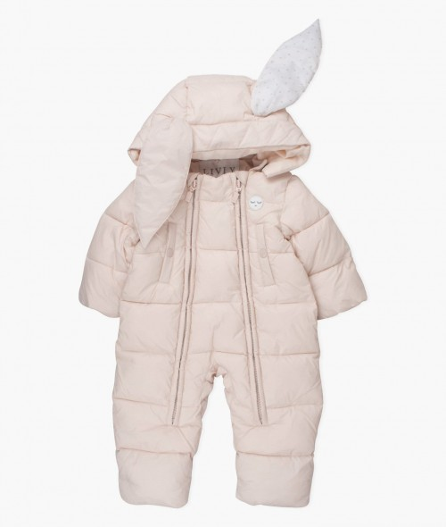 Perfect Pink Bunny Overall