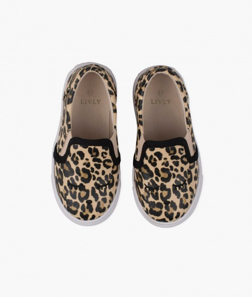 Cute Comfortable Leo Pattern Shoes