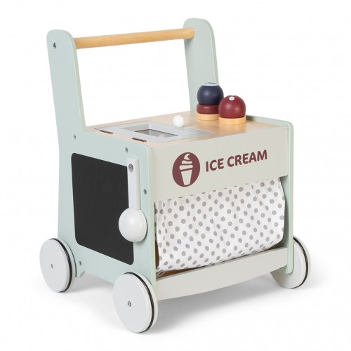 Wood Ice Cream Baby Walker
