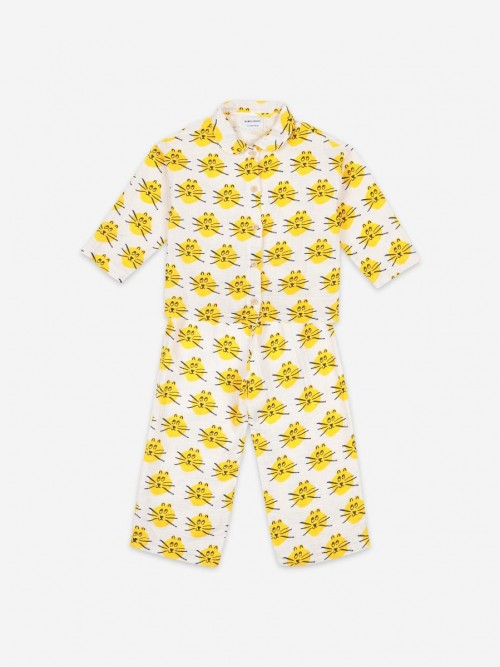 Pijama Underwear with Cats Print