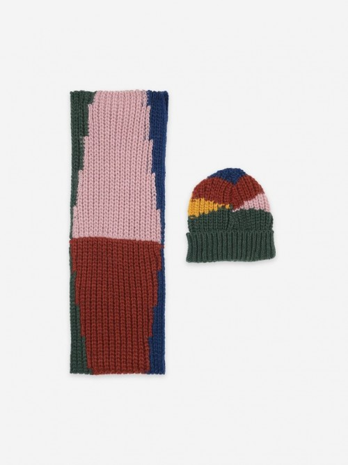 Seasonal Accessories: Neck Warmer and Beanie Set