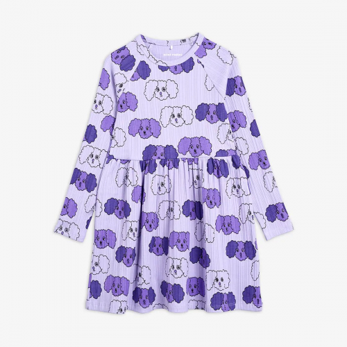 Nice Purple Long Sleeve Dress
