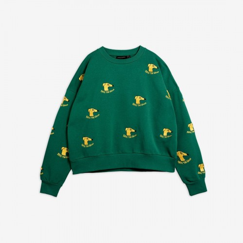 Dark Green Adult Sweatshirt