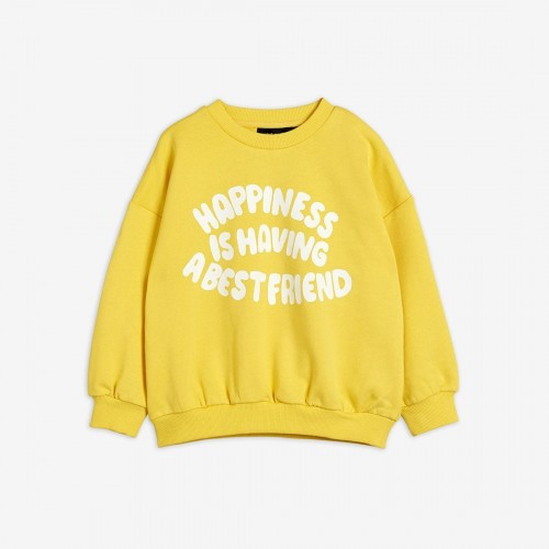 Trendy Yellow Sweatshirt