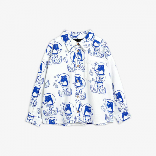 Off White Woven Shirt