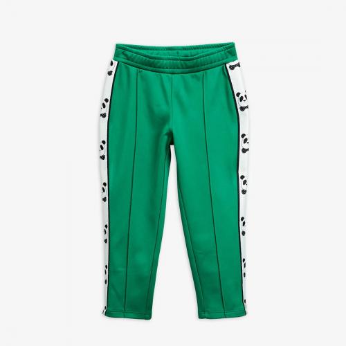 Panda Green Retro Track Pants