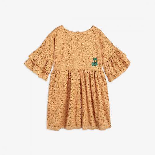 Romantic Lace Dress in Beige