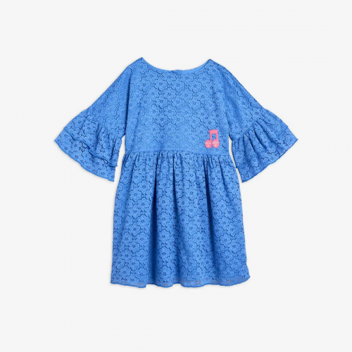 Poetic Lace Dress in Blue